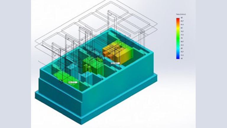 finite element analysis thermal modeling for passively cooled system
